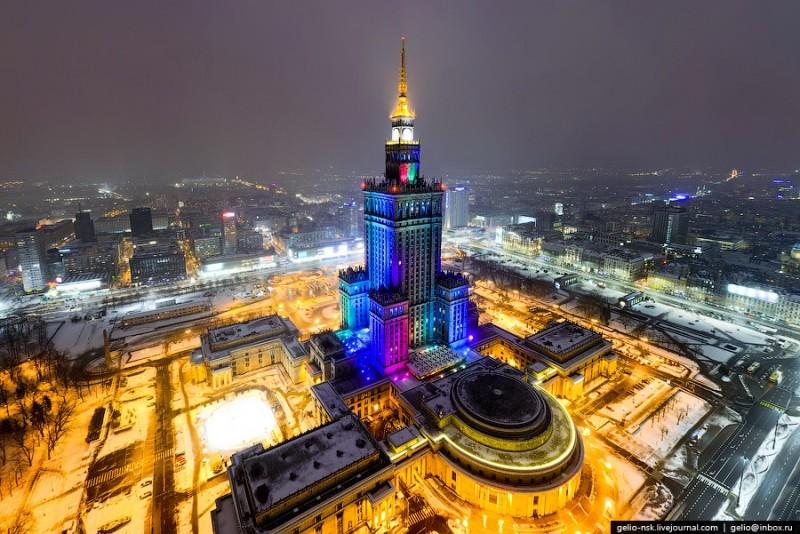 Warszawa Zimą